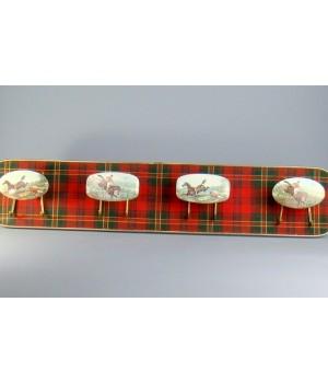 Вешалка в шотландском стиле Охота