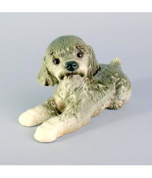 Фигурка, статуэтка собака, Пудель,Goebel