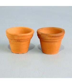 Миниатюрные глиняные горшки