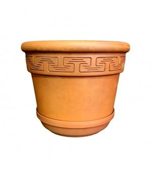 Горшок глиняный для цветов