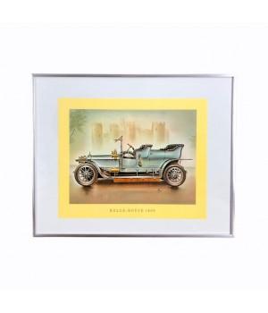 Репродукция, Старинный Автомобиль Rolls - Royse, 1906 года