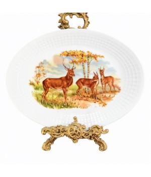 Блюдо овальное Eschenbach, Охота