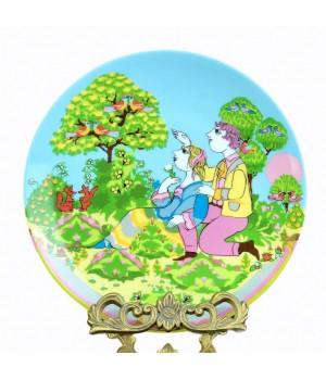 Декоративная тарелка Rosenthal, Времена года, Весна