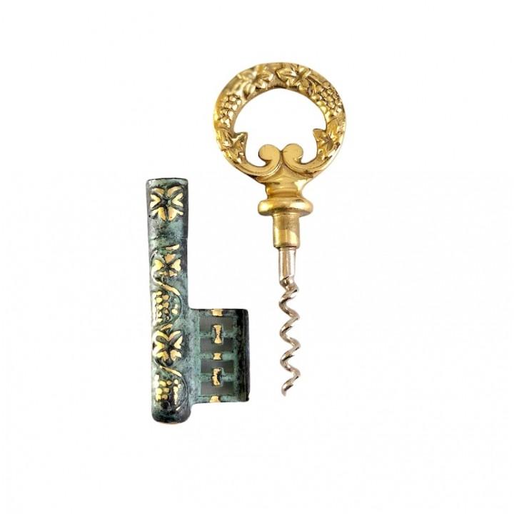 Штопор Ключ, бронза