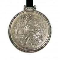 Медальон, олово Времена Года, Herbst, Осень