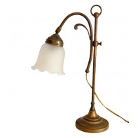 Лампа настольная Тюльпан, бронза